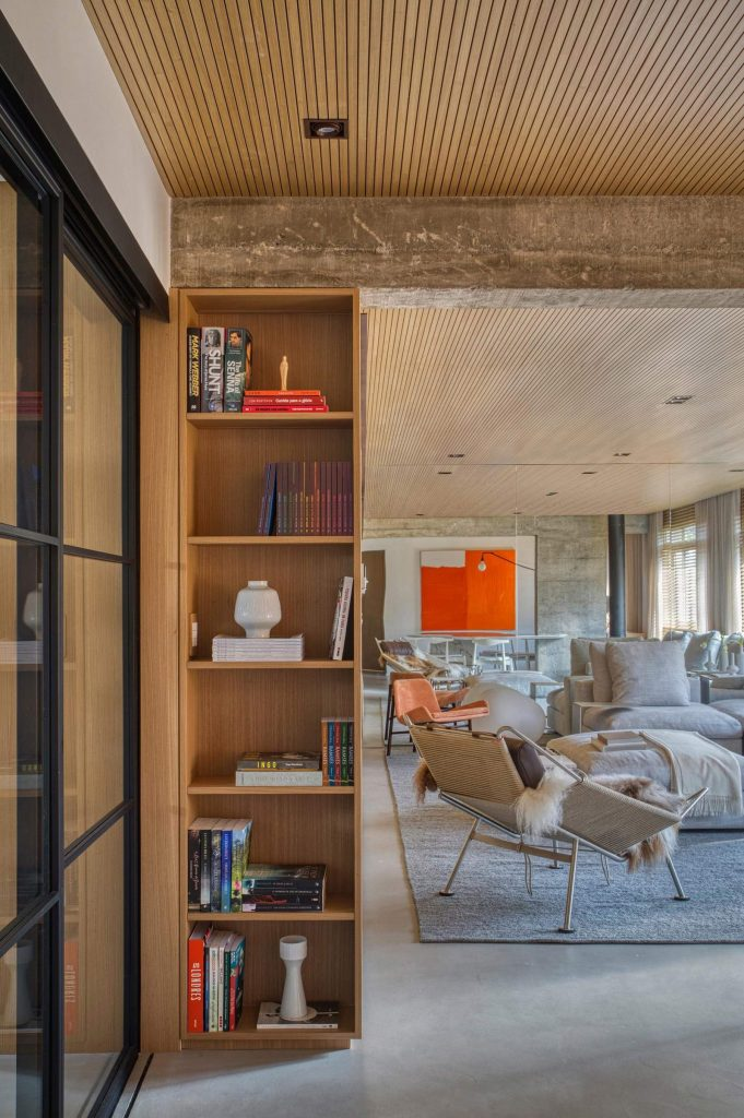 Concrete-Interior-for-young-couple---dining-detail