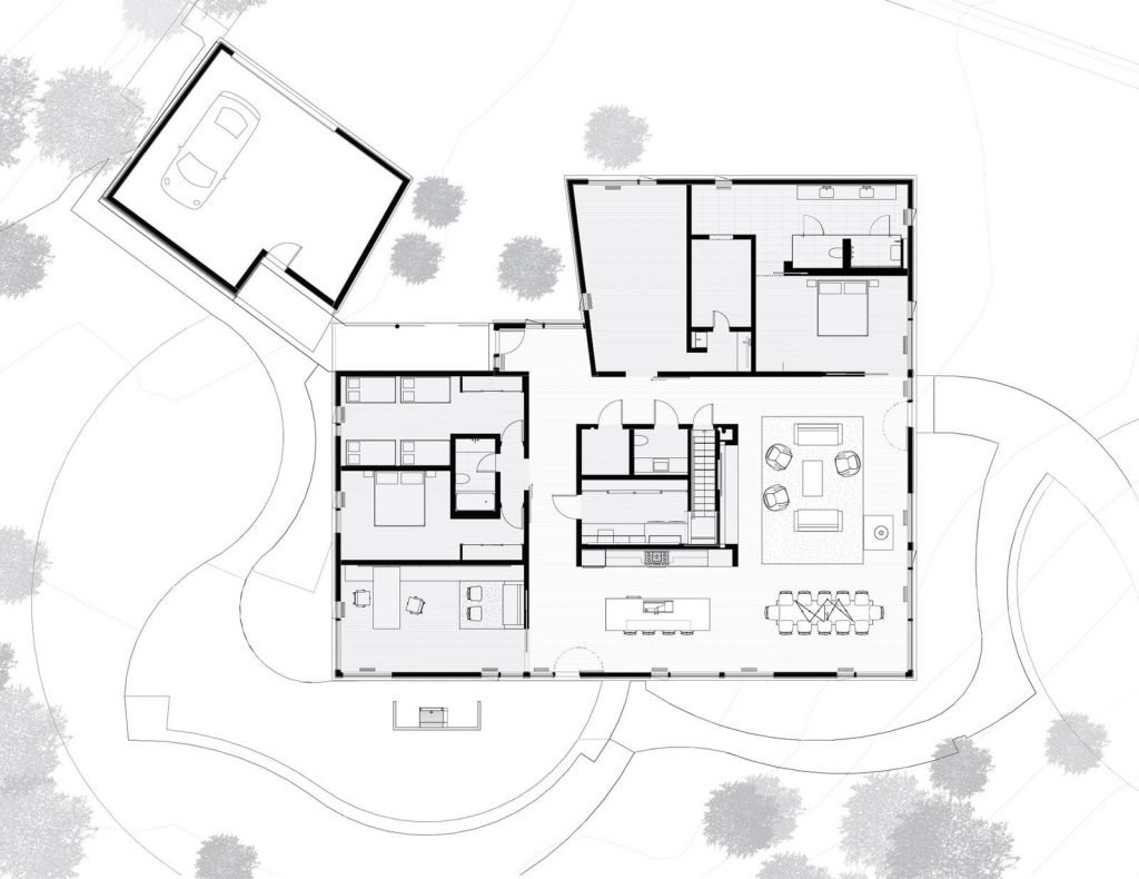 house in the woods plans